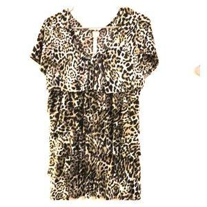 Andrea Missy Leopard Print Blouse!